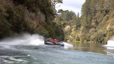 RedBalloon Scenic Blast Jet Boat Ride on Waikato River