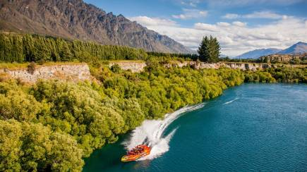 RedBalloon Gibbston Valley Wine Tour with Jet Boating on Kawarau River
