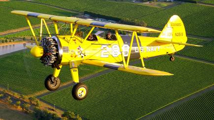 RedBalloon Boeing Stearman Scenic Joy Flight - 30 Minutes