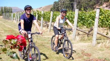 RedBalloon Gibbston River Trail Ride with Winery Tour and Lunch - For 2