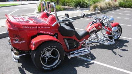 RedBalloon Melbourne Private Trike Hire with Driver - 1 Hour - For 2