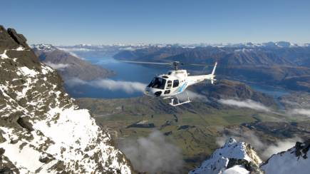 RedBalloon Half Day Private Helicopter Wine Tour in Gibbston Valley