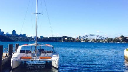 RedBalloon Sydney Harbour History Cruise with Lunch and Stops - 6 Hours