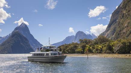 RedBalloon Coach Ride, 2 Hour Cruise and Flight Over Milford Sound