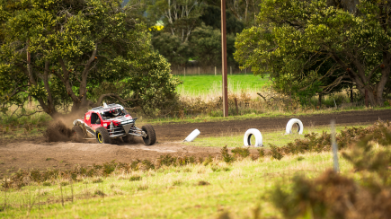 RedBalloon V8 Buggy Drive - 20 Lap Drive and 2 Hot Laps - Gold Coast