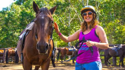 RedBalloon Horse Riding Free Range - 2 Hours