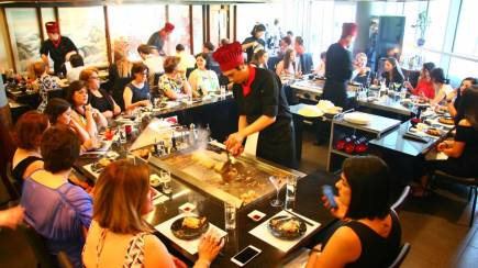 RedBalloon Japanese Teppanyaki Lunch or Dinner - For 2