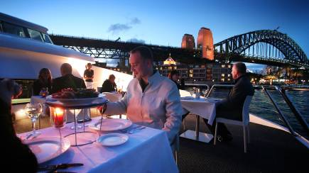RedBalloon Premium Sydney Harbour Dinner Cruise with Drinks