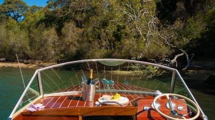 RedBalloon Private Cruise Through National Park with Hamper and Wine