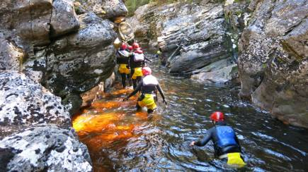 RedBalloon Cradle Mountain Canyoning Experience with Lunch - Full Day