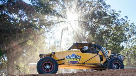 RedBalloon V8 Buggy Drive with Hot Laps Experience - 12 Laps - Adelaide