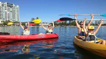 RedBalloon Surfers Paradise Double Kayak Hire - 4 Hours