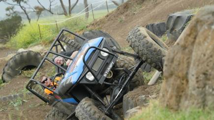 RedBalloon 4WD Adventure Drive and Passenger Lap - 4 Courses - Weekend