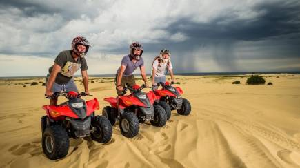 RedBalloon The Ultimate Stockton Beach Quad Bike Adventure - 90 Minutes