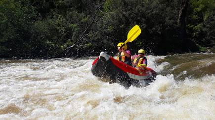 RedBalloon Whitewater Rafting and Adventure Caving Day