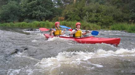 RedBalloon Abseiling and White Water Kayaking Experience