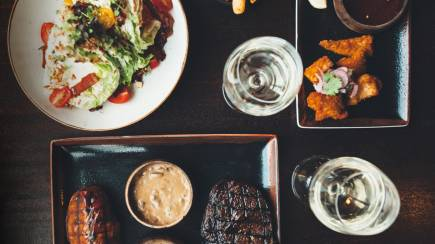 RedBalloon 2 Course Steakhouse Lunch with Drink - For 2 - Barangaroo