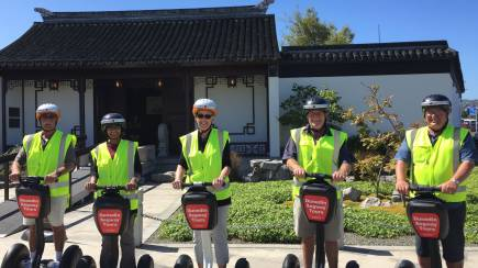 RedBalloon Dunedin City Highlights Guided Segway Tour - 90 Mins