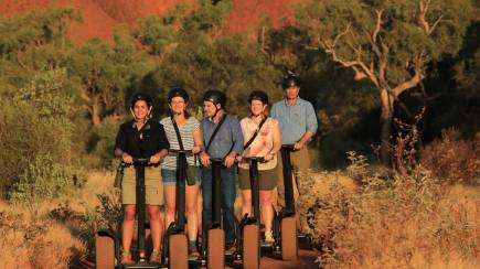 RedBalloon Uluru Sunrise Breakfast and Segway Tour