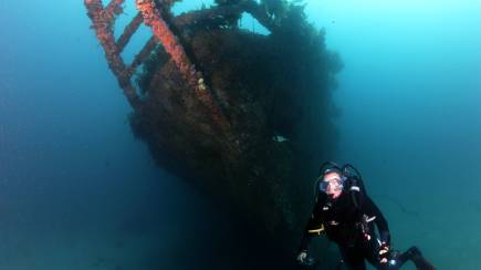 RedBalloon Dive the Rainbow Warrior Shipwreck - Full Day