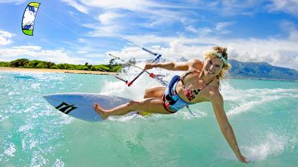 RedBalloon St Kilda Kiteboarding Private Tuition - 2 Hours