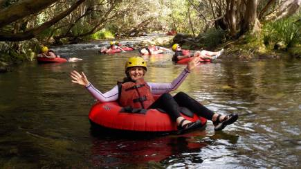 RedBalloon Easy River Tubing Adventure with Transfers and Snacks