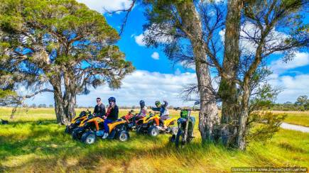 RedBalloon Full Day Quad Bike Adventure Tour - For 2