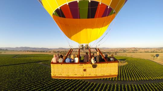 Hot Air Ballooning Over the Mudgee Region with Breakfast