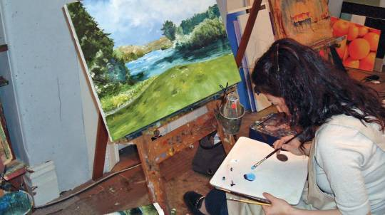 Painting And Drawing Lessons - All Levels - 10 Weeks