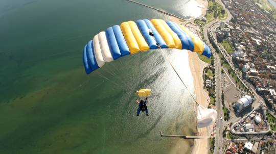 Skydive Over St Kilda, Melbourne - Up To 15,000ft - Weekend