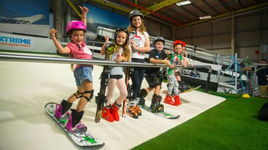 Indoor Ski or Snowboard Group Lesson - 60 Minutes