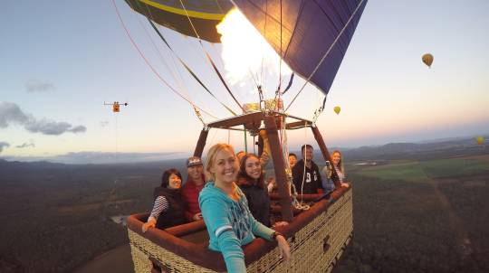 Hot Air Ballooning Over Atherton Tablelands