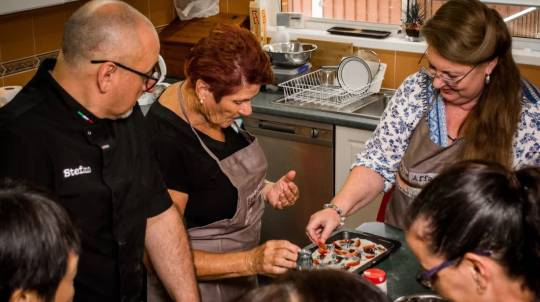Private Italian Cooking Class at Home - For 8