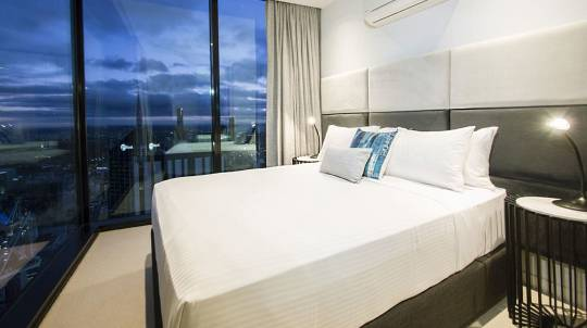 2 Night Stay in a Sky Apartment in the City – for up to 6
