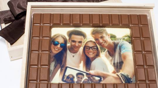 Personalised Photo Chocolate Block