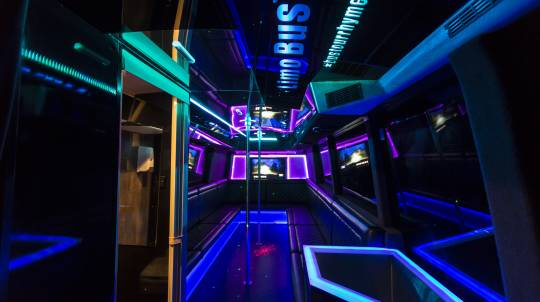 5 Hour Limo Party Bus Hire - For up to 38