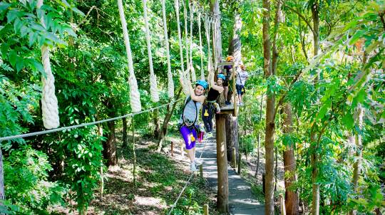 Zipline Adventure at Currumbin Wildlife Sanctuary