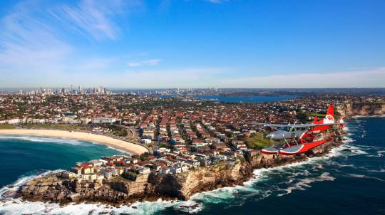 Seaplane Flight over Sydney Harbour and Palm Beach