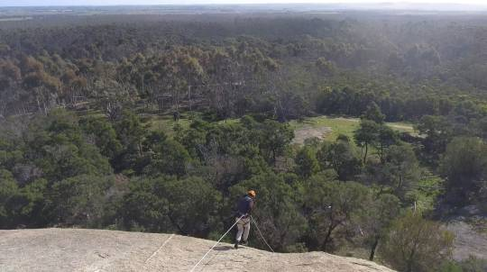 Forward Abseiling at The You Yangs - 2 Hours