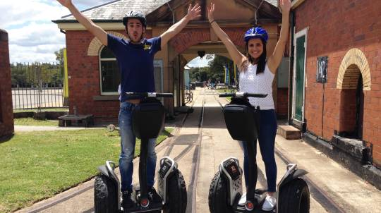 90 Minute Segway Adventure Tour - Sydney Olympic Park