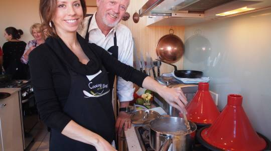 Moroccan Spices Cooking Class with Wine