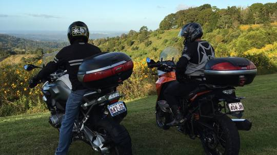 Sunshine Coast Adventure Motorcycle Hire - 1 Day - For 2