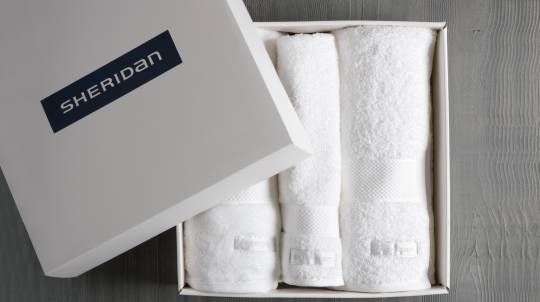 Luxury Sheridan Towel Gift Set - White