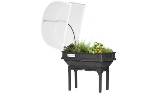 Small Vegepod Self Contained Garden with Cover and Stand