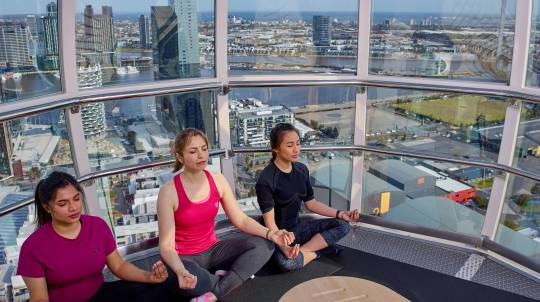 Vinyasa Yoga in the Sky - 60 Minutes - For 2