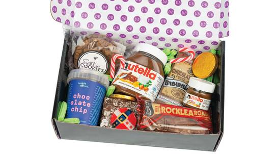 Christmas Gift Box with Nutella, Rocky Road and Cookie Dough