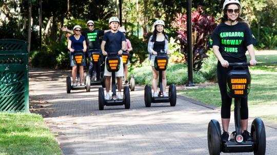 Segway Joy Ride Around Brisbane - 45 Minutes