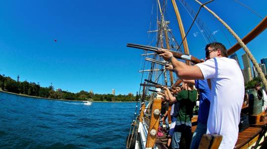 Tall Ship Cruise, Mast Climb and Clay Shooting - Adult