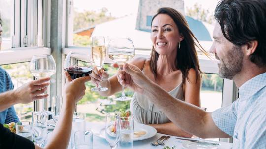 Winery Tour and Tasting with 2 Course Lunch - For 2