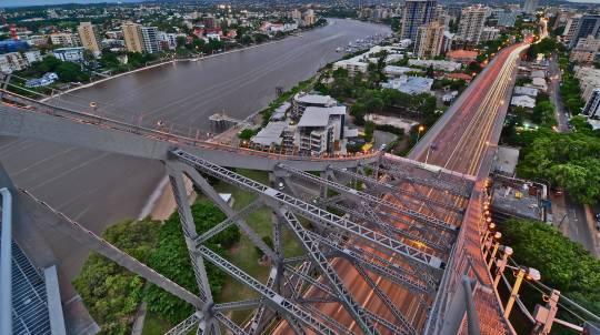 Brisbane's Story Bridge Twilight Climb